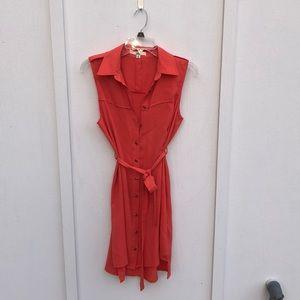 Cute cinch waist dress